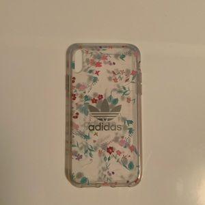 I phone XR adidas case